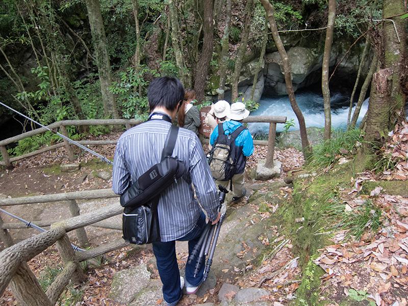 河津七滝 えび滝へ