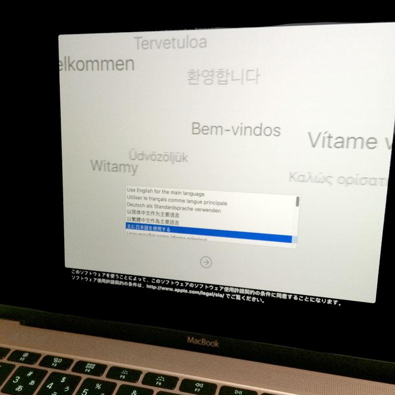 MacBook Early 2016 ローズゴールド