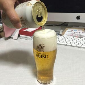 ヱビスビール・ホワイトビール「華みやび」 美味しい注ぎ方
