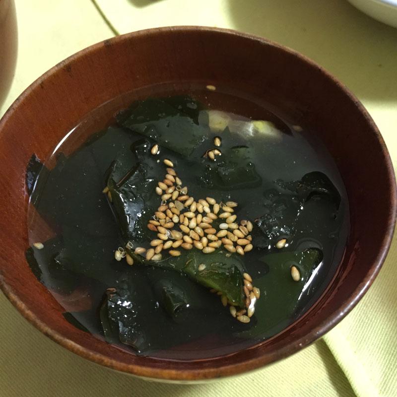 にんにくスープ 美味しんぼ