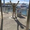 マレーシアへのマイル旅その⑤~石垣島2日め編~石垣島の朝ごはん&具志堅像&プレミアム御膳が美味しい大阪へ飛行機の旅