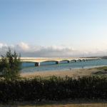 沖縄旅行記⑥美しい海と橋、夕暮れ時の古宇利大橋と古宇利島へ