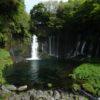 静岡一周富士伊豆箱根めぐり旅⑥富士山がみえる白糸の滝でマイナスイオンに癒される