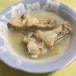 サムゲタン風スープがカンタン美味しい!『NHK 趣味どきっ!わたしにご褒美スープ 第1回手羽先チキンブイヨン』のレシピで手羽元チキンブイヨンからつくってみた