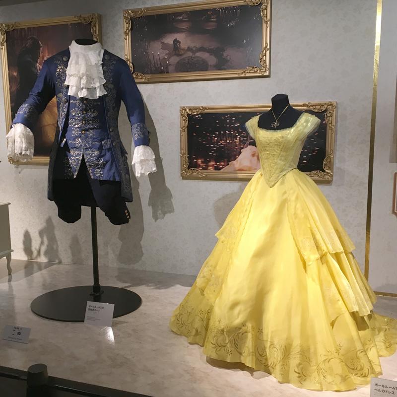 ウォルト・ディズニー・アーカイブス展~ミッキーマウスから続く、未来への物語~ 美女と野獣 衣装 ドレス
