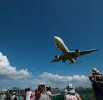 飛行機撮影 by 伊丹空港横千里川堤防